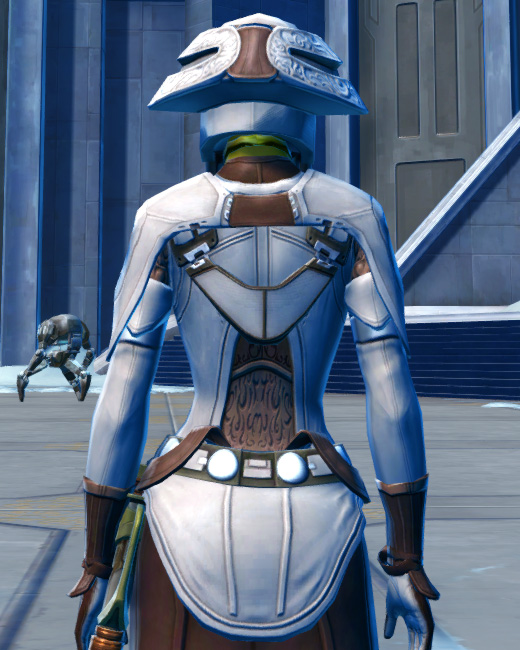 Saava Force Expert Armor Set Back from Star Wars: The Old Republic.