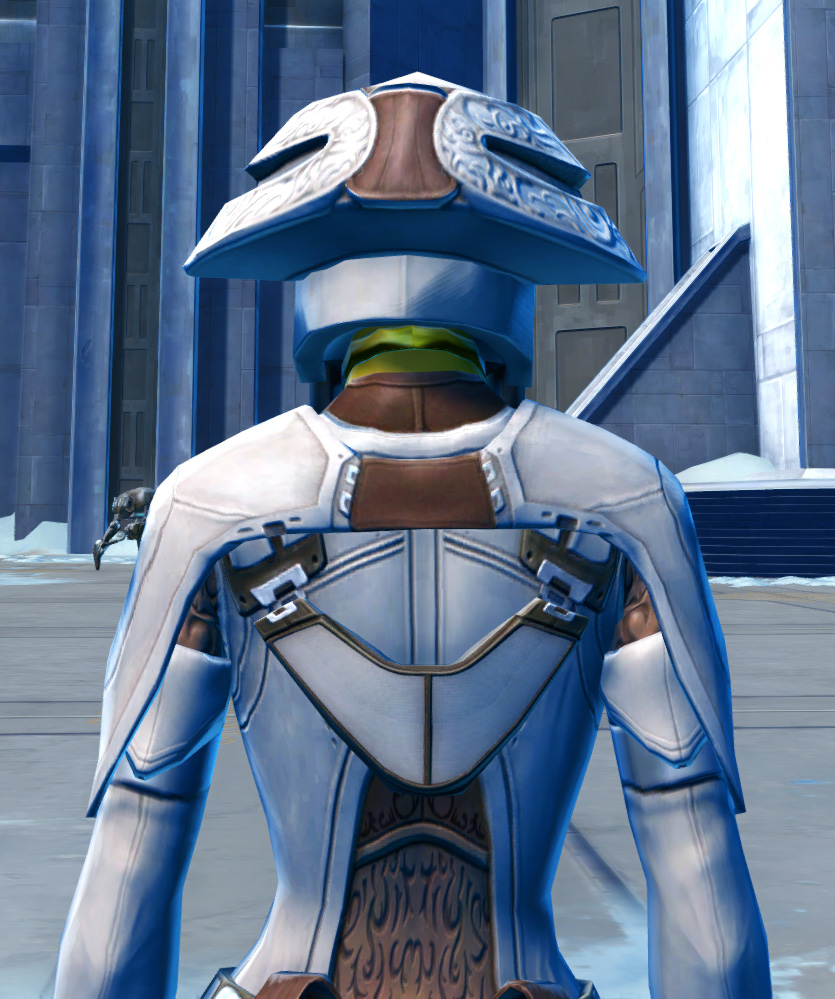 Saava Force Expert Armor Set detailed back view from Star Wars: The Old Republic.