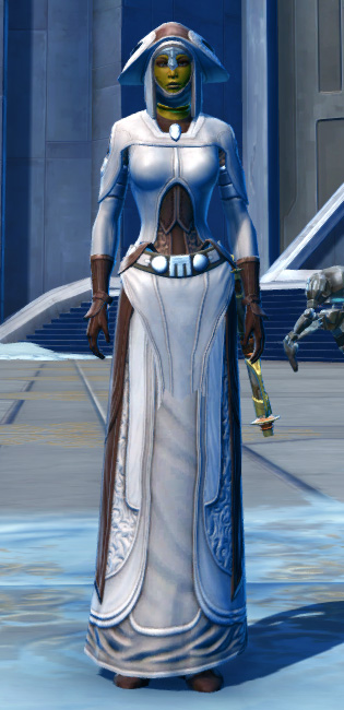Saava Force Expert Armor Set Outfit from Star Wars: The Old Republic.