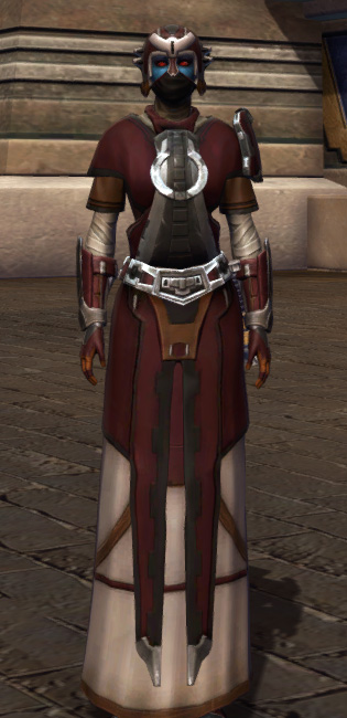 Saber Master Armor Set Outfit from Star Wars: The Old Republic.