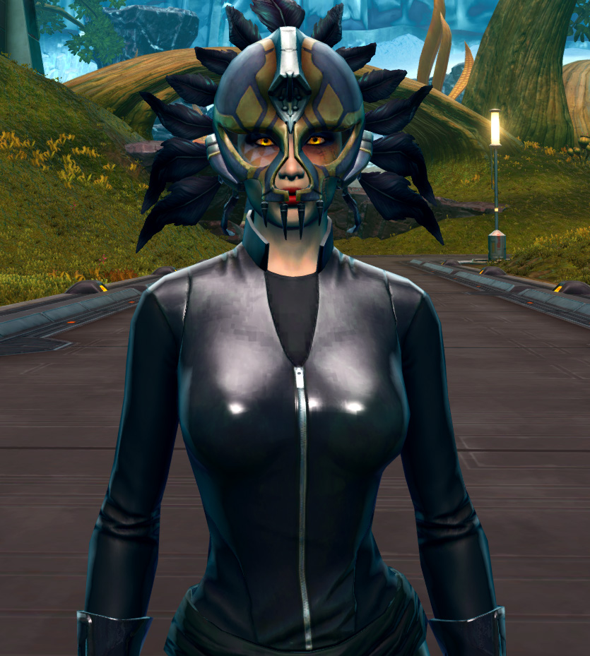 Sacramental Headdress Armor Set from Star Wars: The Old Republic.