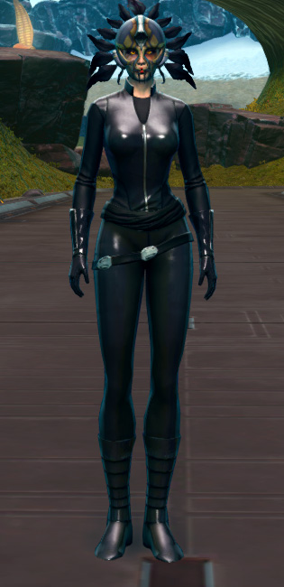 Sacramental Headdress Armor Set Outfit from Star Wars: The Old Republic.