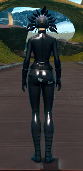Sacramental Headdress Armor Set player-view from Star Wars: The Old Republic.