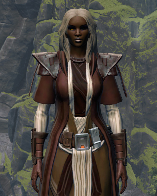 Sanctified Caretaker Armor Set Preview from Star Wars: The Old Republic.