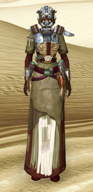 Sand People Pillager Armor Set Outfit from Star Wars: The Old Republic.
