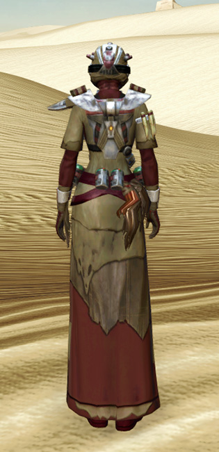Sand People Pillager Armor Set player-view from Star Wars: The Old Republic.