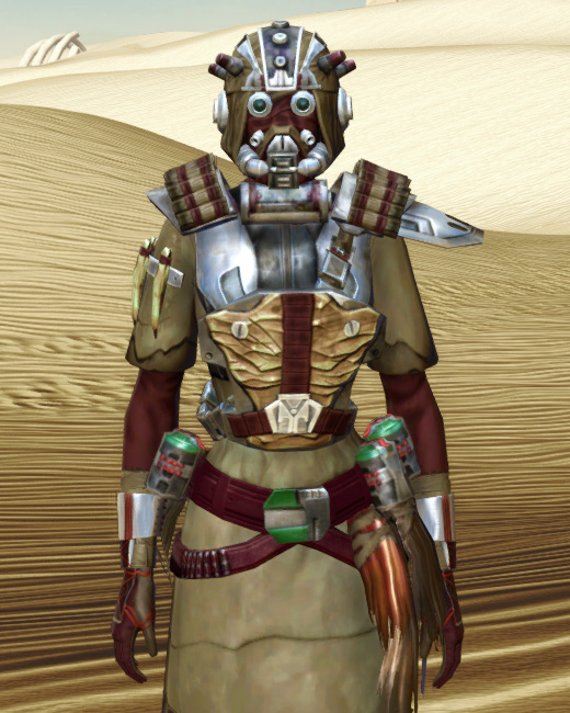 Sand People Pillager Armor Set Preview from Star Wars: The Old Republic.