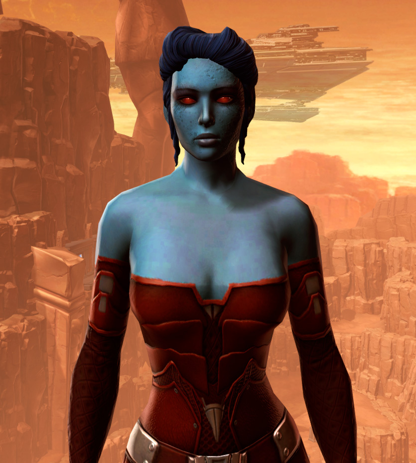 Sensuous Dress Armor Set from Star Wars: The Old Republic.
