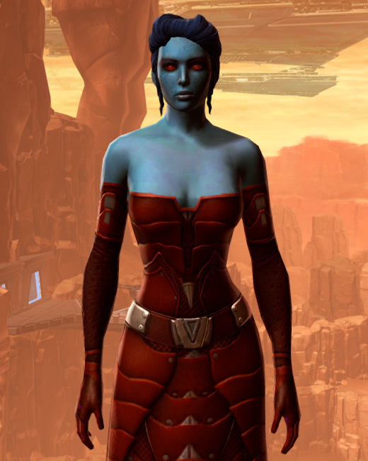 Sensuous Dress Armor Set Preview from Star Wars: The Old Republic.