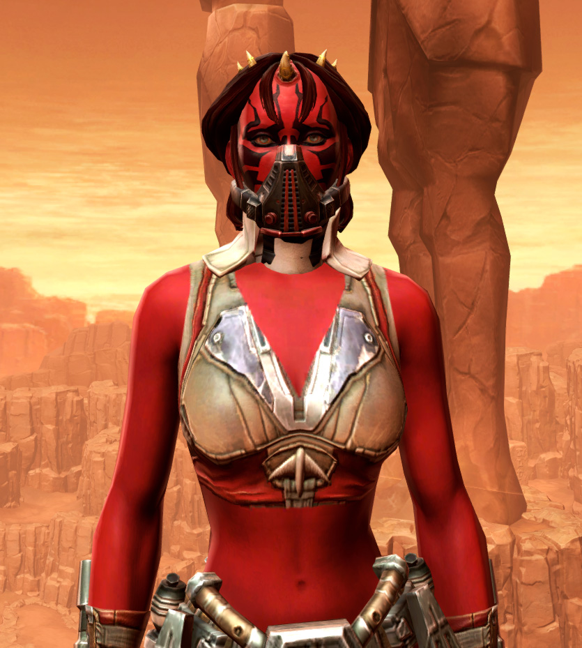 Septsilk Aegis Armor Set from Star Wars: The Old Republic.