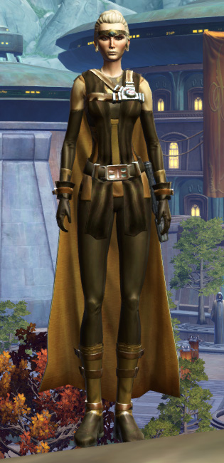 Septsilk Aegis Armor Set Outfit from Star Wars: The Old Republic.