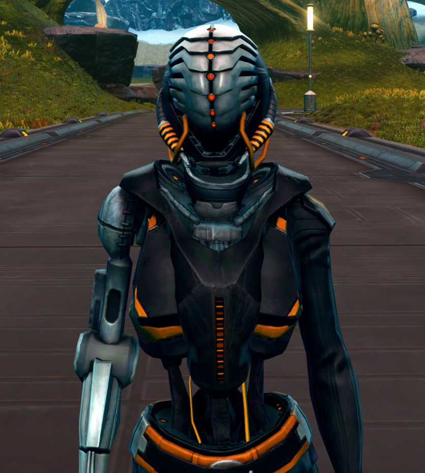 Series 512 Cybernetic Armor Set from Star Wars: The Old Republic.