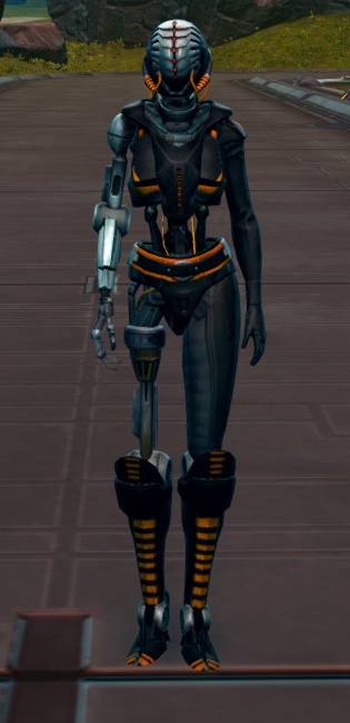 Series 512 Cybernetic Armor Set Outfit from Star Wars: The Old Republic.