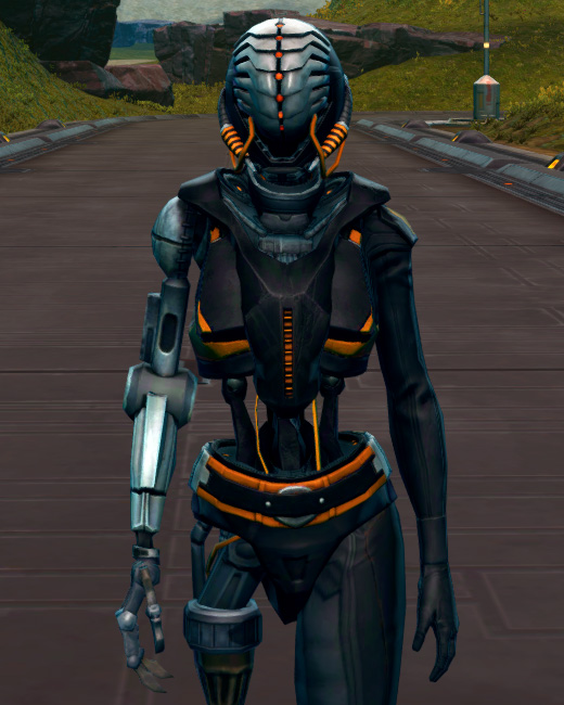 Series 512 Cybernetic Armor Set Preview from Star Wars: The Old Republic.