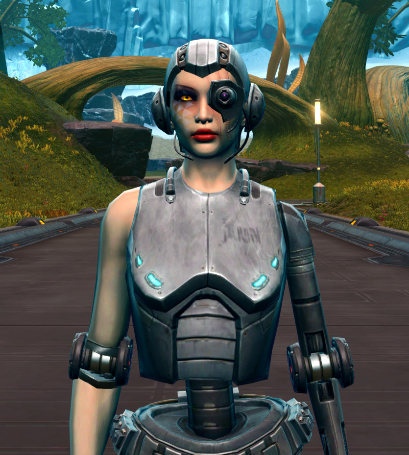 Series 616 Cybernetic Armor Set from Star Wars: The Old Republic.
