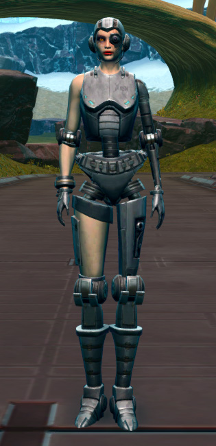 Series 616 Cybernetic Armor Set Outfit from Star Wars: The Old Republic.