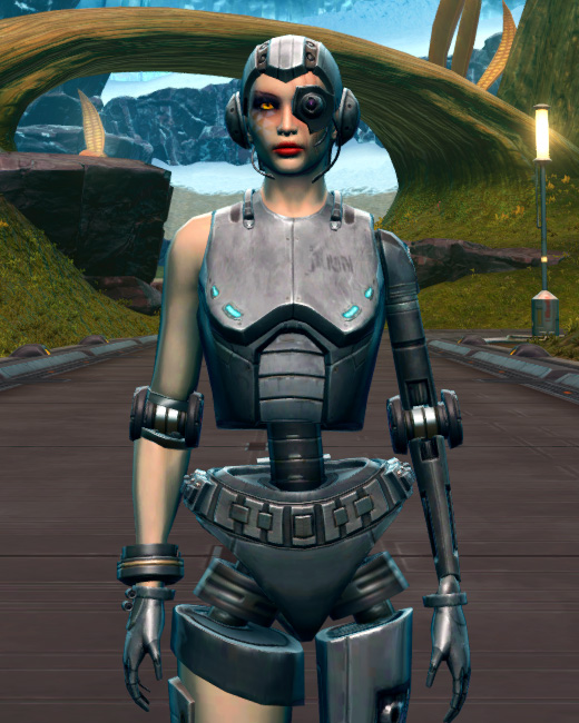 Series 616 Cybernetic Armor Set Preview from Star Wars: The Old Republic.