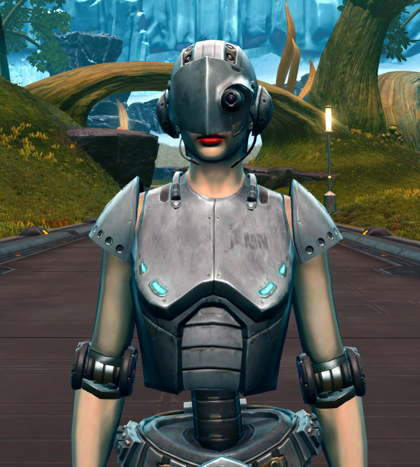 Series 858 Cybernetic Armor Armor Set from Star Wars: The Old Republic.