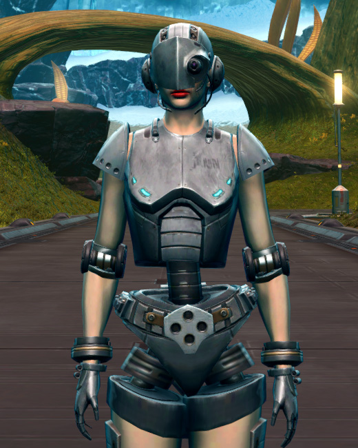 Series 858 Cybernetic Armor Armor Set Preview from Star Wars: The Old Republic.
