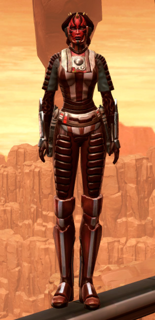 Shadowsilk Aegis Armor Set Outfit from Star Wars: The Old Republic.