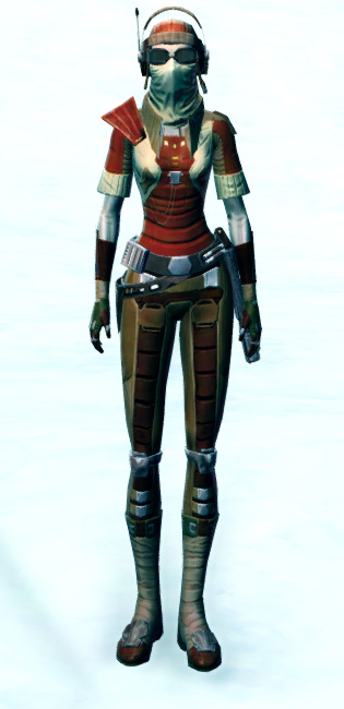 Shrewd Privateer Armor Set Outfit from Star Wars: The Old Republic.