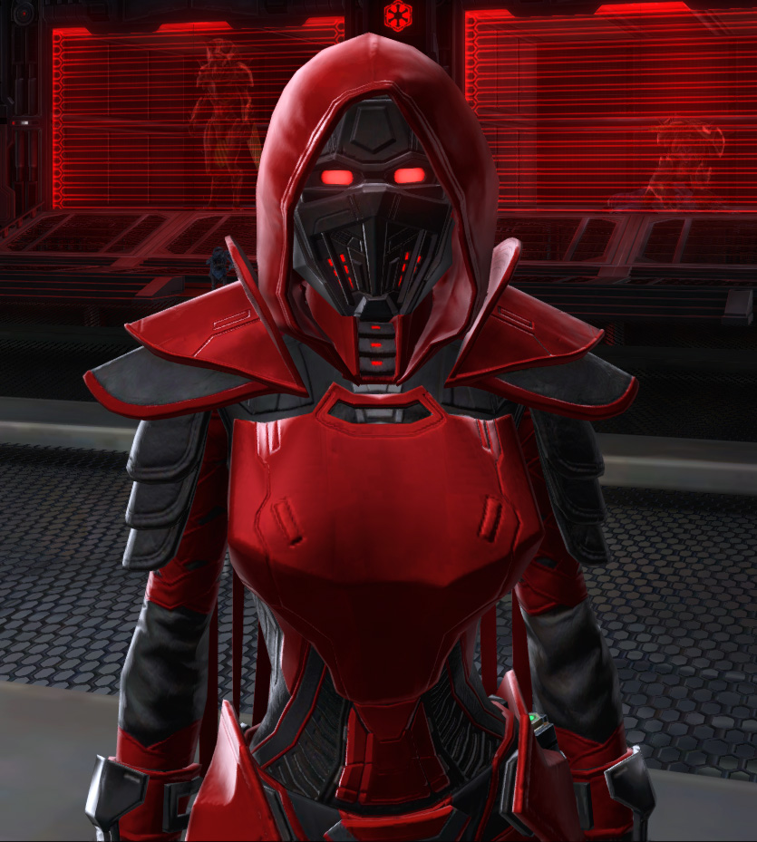 Sinister Warrior Armor Set from Star Wars: The Old Republic.