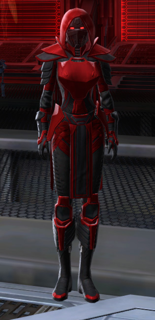 Sinister Warrior Armor Set Outfit from Star Wars: The Old Republic.