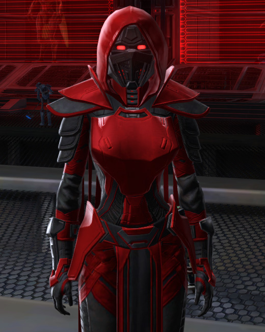 Sinister Warrior Armor Set Preview from Star Wars: The Old Republic.