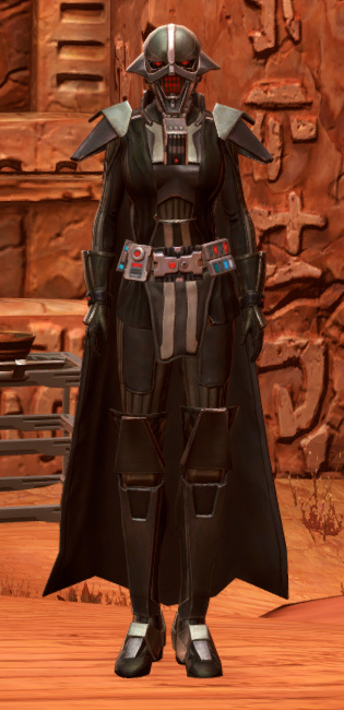 Sith Annihilator Armor Set Outfit from Star Wars: The Old Republic.