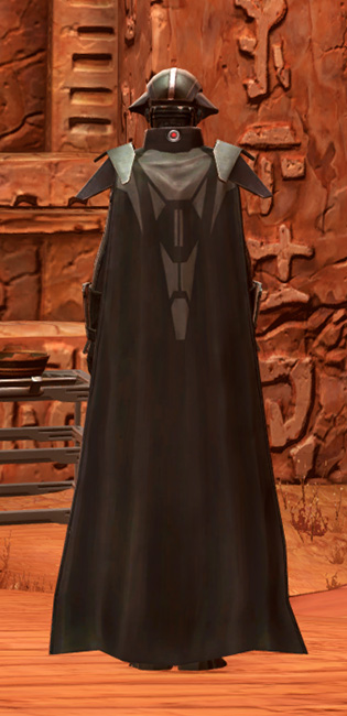 Sith Annihilator Armor Set player-view from Star Wars: The Old Republic.