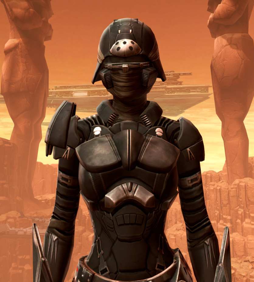 Sith Recluse Armor Set from Star Wars: The Old Republic.