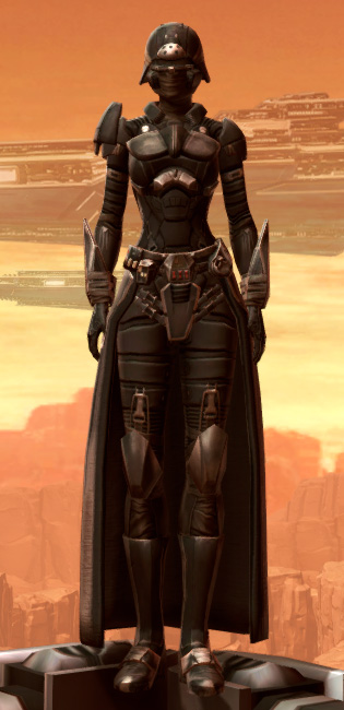 Sith Recluse Armor Set Outfit from Star Wars: The Old Republic.