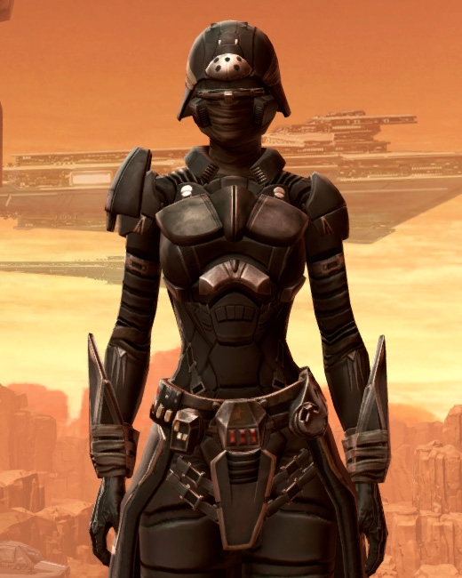 Sith Recluse Armor Set Preview from Star Wars: The Old Republic.