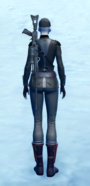 Hooligan Armor Set player-view from Star Wars: The Old Republic.