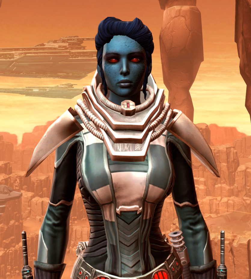 Sorcerer Adept Armor Set from Star Wars: The Old Republic.