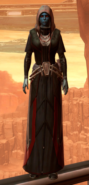 Sorcerer Armor Set Outfit from Star Wars: The Old Republic.