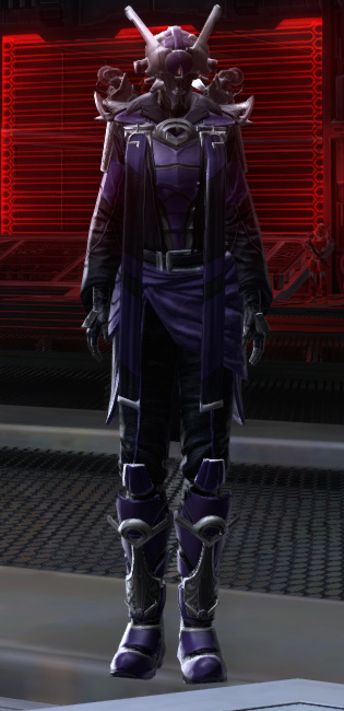 Sovereign Executioner Armor Set Outfit from Star Wars: The Old Republic.