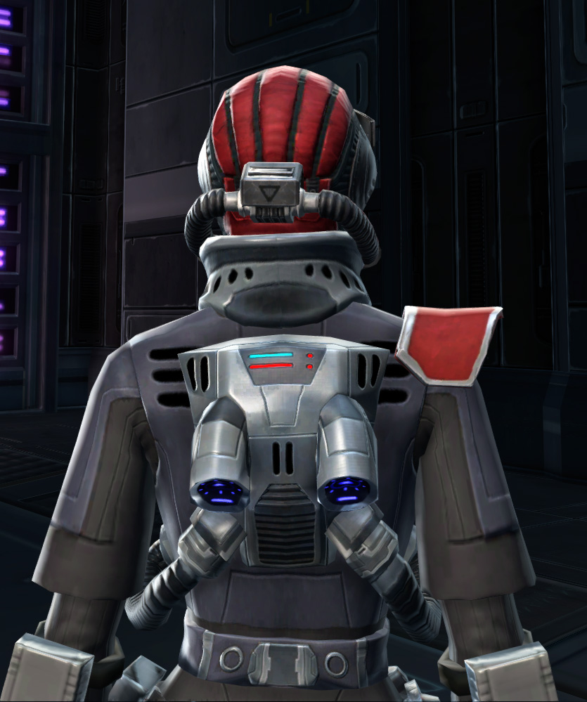 Special Forces Armor Set detailed back view from Star Wars: The Old Republic.