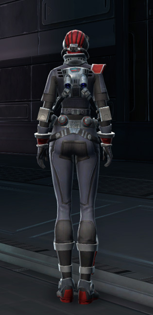 Special Forces Armor Set player-view from Star Wars: The Old Republic.
