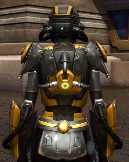 Squad Leader Armor Set Back from Star Wars: The Old Republic.