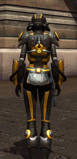 Squad Leader Armor Set player-view from Star Wars: The Old Republic.