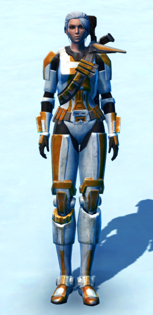 Stalwart Protector Armor Set Outfit from Star Wars: The Old Republic.