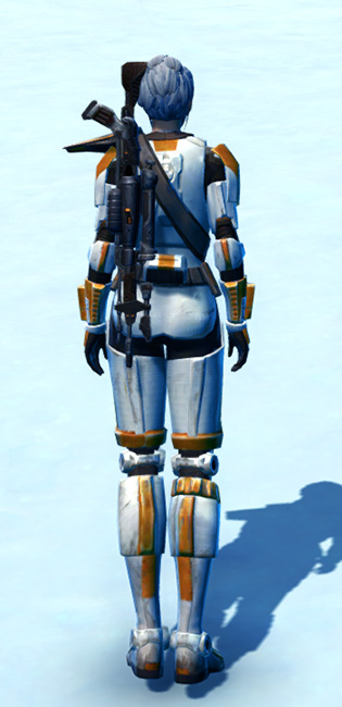 Stalwart Protector Armor Set player-view from Star Wars: The Old Republic.