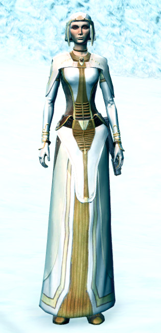 Stately Diplomat Armor Set Outfit from Star Wars: The Old Republic.