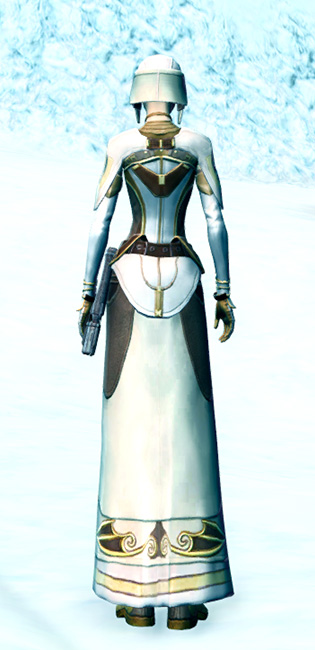 Stately Diplomat Armor Set player-view from Star Wars: The Old Republic.