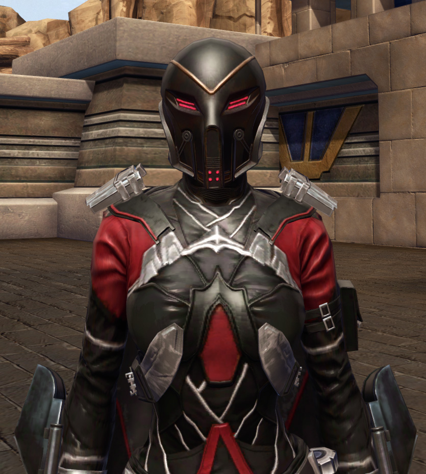 Masterwork Ancient Field Tech Armor Set from Star Wars: The Old Republic.