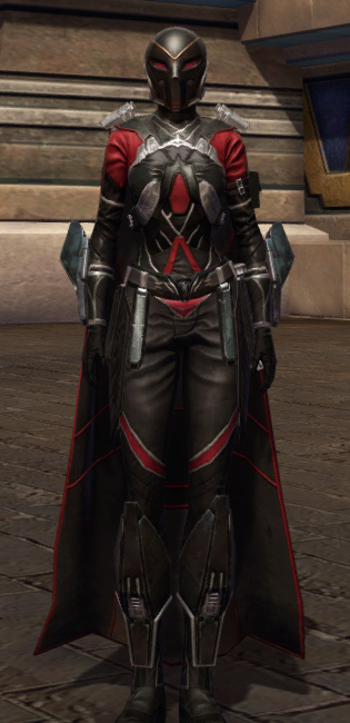 Masterwork Ancient Field Tech Armor Set Outfit from Star Wars: The Old Republic.