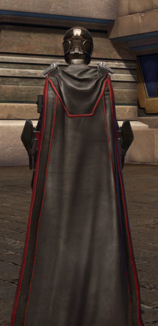 Masterwork Ancient Field Tech Armor Set player-view from Star Wars: The Old Republic.