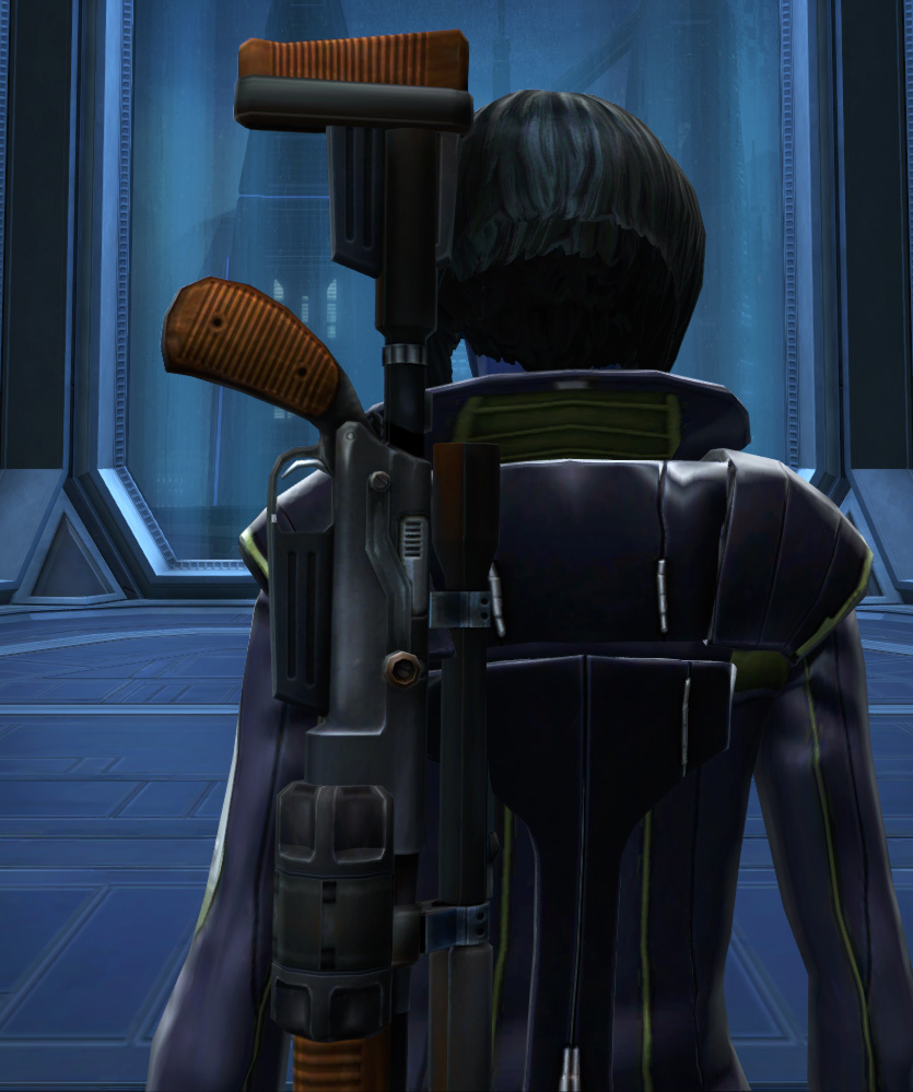 Subversive Armor Set detailed back view from Star Wars: The Old Republic.