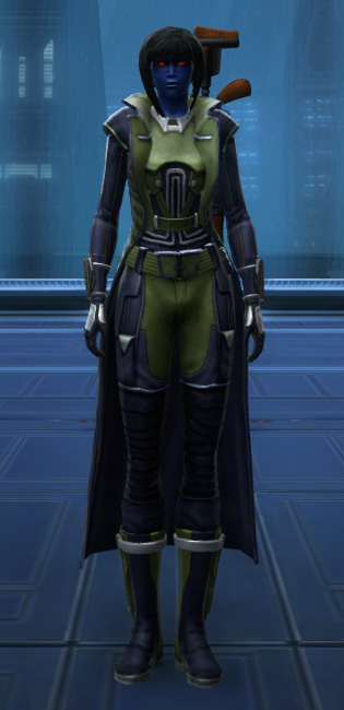 Subversive Armor Set Outfit from Star Wars: The Old Republic.